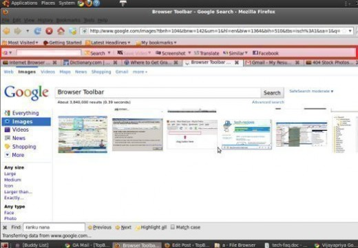 Browser Toolbar