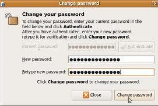 How to Change a Unix Password