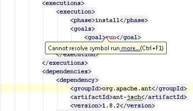 cannot resolve symbol