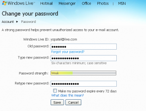 How to Change an MSN Messenger Password