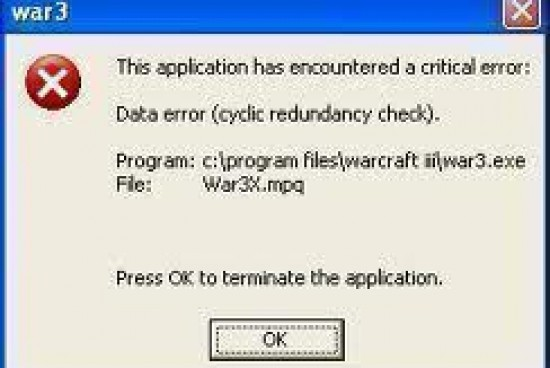 Data Error Cyclic Redundancy Check