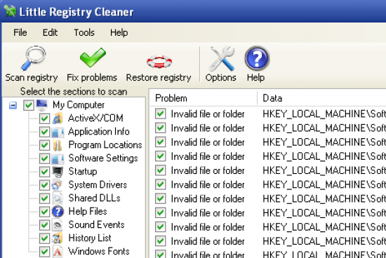 Free Registry Cleaners