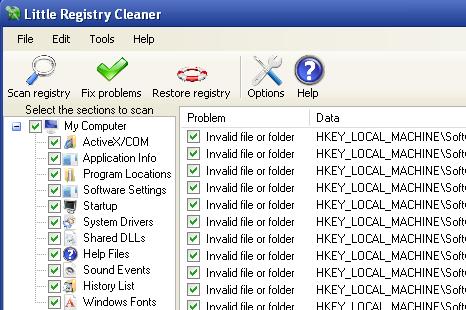 Free Registry Cleaners