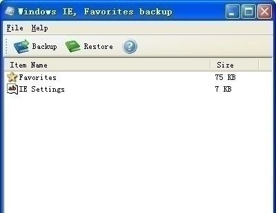 How to Backup Your Internet Explorer Favorites