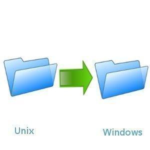 How to Copy UNIX Files to Windows