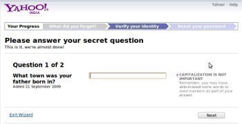 How Does Yahoo Password Recovery work?
