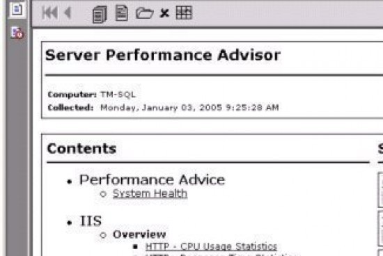 IIS Performance Monitoring and Tuning