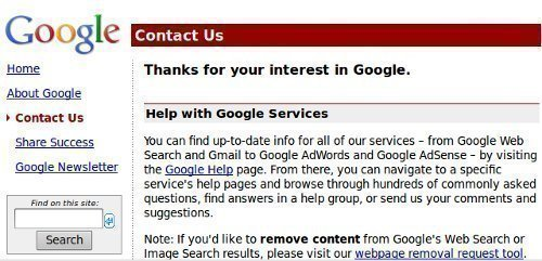 How Do I Contact Google?