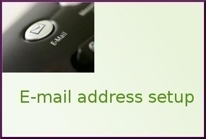 How Do I Setup My Own Email Address?