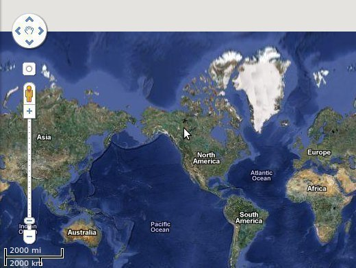 how often is google earth updated