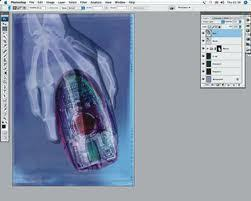 How to X-Ray in Photoshop