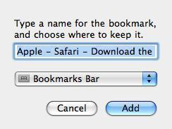 How to Bookmark