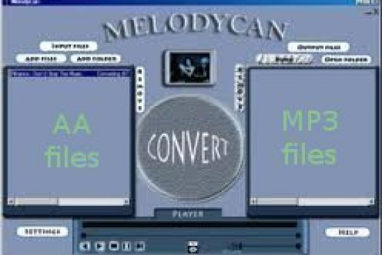 How to Convert Audible AA Files to MP3