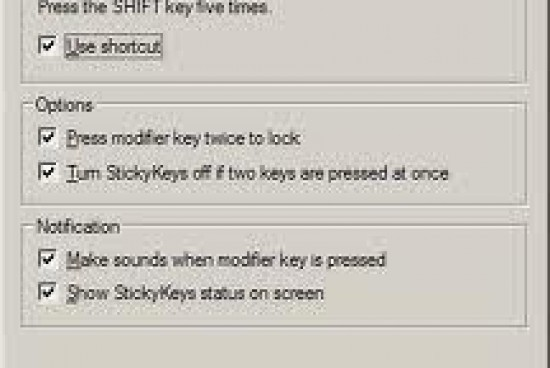 How to Turn Off Sticky Keys