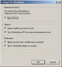 How to Turn Off Sticky Keys