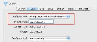 How to Set a Static IP