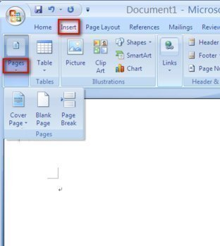 How to Add or Delete a Page in Microsoft Word