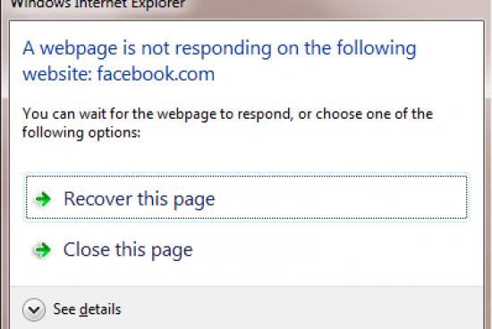 How to Fix Microsoft Internet Explorer Not Responding