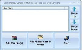 How to merge rar files with 7zip