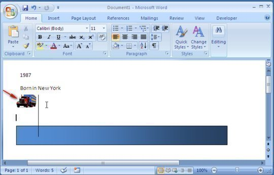 How to Make a Timeline on Microsoft Word