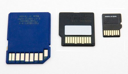 Difference Between SD & SDHC Memory Cards