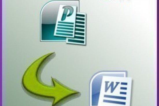 How to Convert a Publisher Document to Word