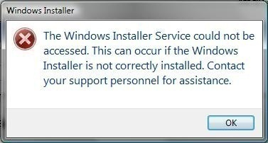 "How to Solve ""Windows Installer Service Could not be Accessed"""