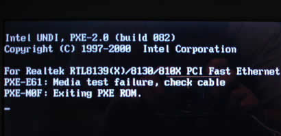 "How to Solve ""PXE-E61 Media Test Failure, Check Cable"" Error"