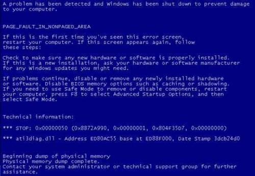 How to Solve Page_Fault_In_Nonpaged_Area in Windows