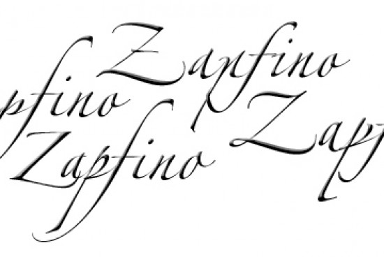 Zapfino Font