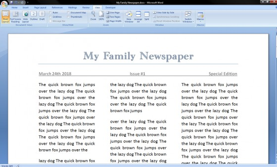 microsoft word 2003 newspaper template koni polycode co