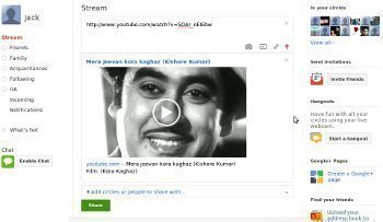 How to Put Music on Google Plus