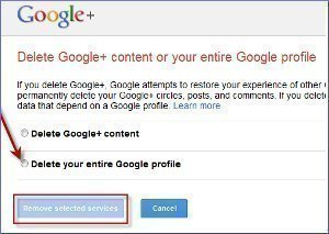 How to Delete a Google Plus Account