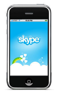 skype iphone Skype for iPhone, Android, and Blackberry