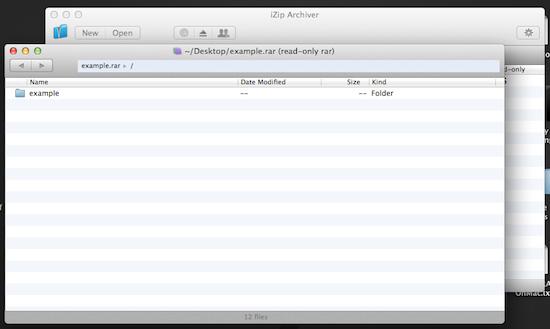 iZip for Mac