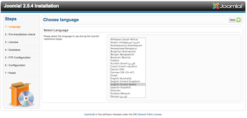 Language check