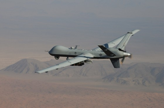 MQ 9 Reaper Armed 560x371 The Counter Terrorism All Star – U.S. Drones