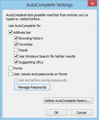 Internet Explorer Stored Password Recovery