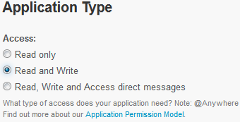 Twitter-app-Read-and-Write-Permissions