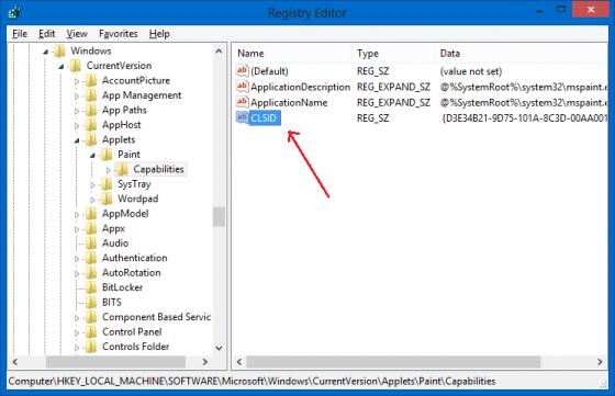 Unlock inbuilt Modern (PDF) Reader - Registry