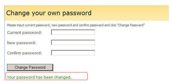 How to Change an Email Password