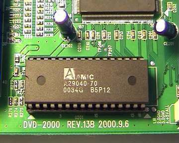 EEPROM (Electrically Erasable Programmable Read-Only Memory)