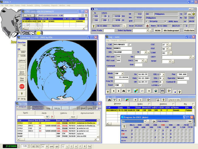 Ham Radio Logging Software - AC6Vs