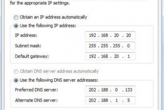 How to Change an IP Address