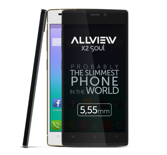 Allview X 2 Soul: the Thinnest Smartphone in the World