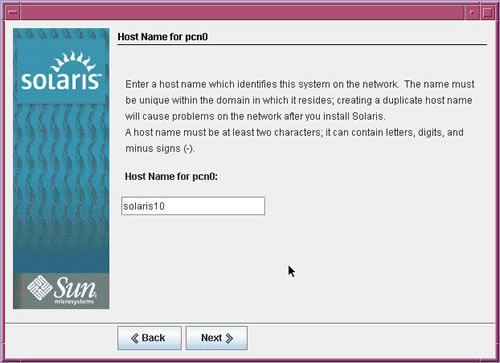 How to Change a Hostname on Solaris