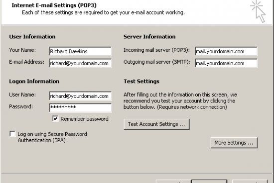 How to Link a Charter Email with Outlook
