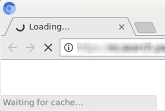 FIX: Google Chrome Freezing with Status Bar Message: Waiting for Cache…