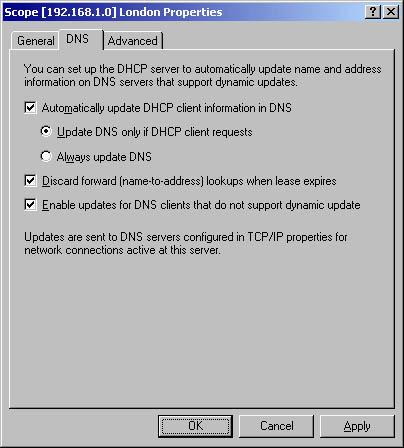 Configuring DNS Clients