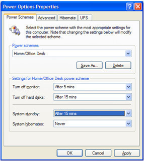 Configuring Power Management